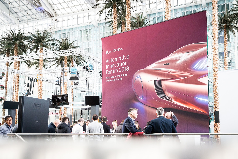 Autodesk automotive innovation forum 2018